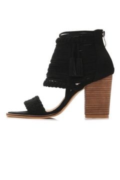 Shoptiques Product: Black Tassel Heels