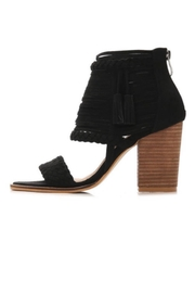 Boutique Black Tassel Heels - Product Mini Image