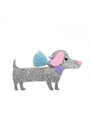Great Pretenders  Boutique Dachshund Hair Clip - Product Mini Image