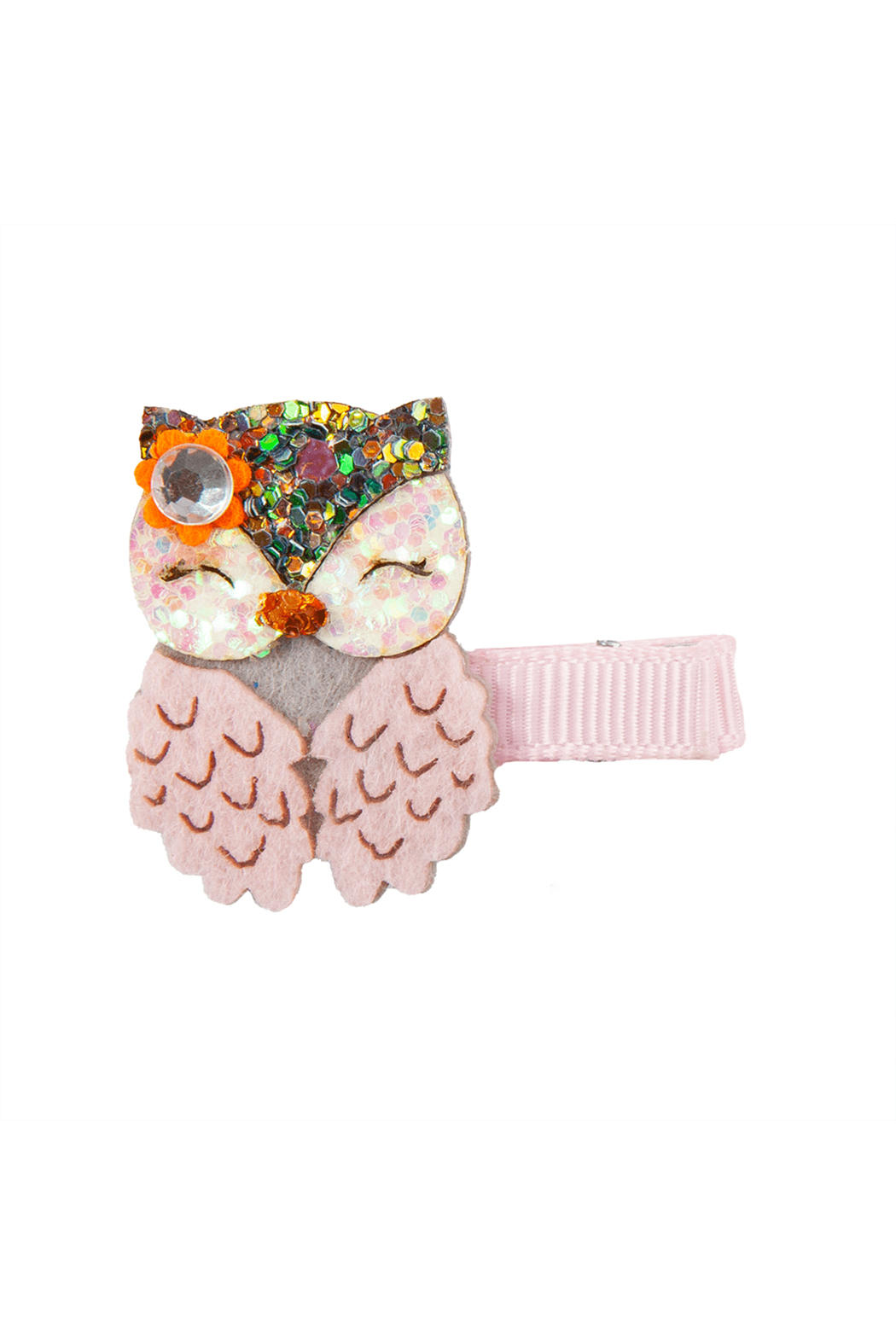 Great Pretenders  Boutique Dear Owl Hair Clip - Front Full Image