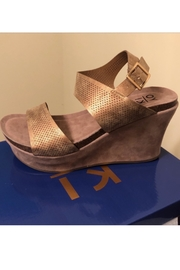 Boutique Gold Wedges - Product Mini Image