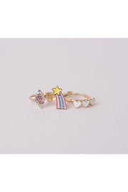 Great Pretenders  Boutique Heart Star Rings - Product Mini Image