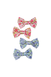 Great Pretenders  Boutique Liberty Beauty Bow Hari Clips - Front cropped