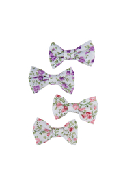 Great Pretenders  Boutique Liberty Mini Bow Hair Clips - Product Mini Image
