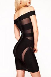 Boutique Peek A Boo Dress - Back cropped