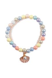 Great Pretenders  Boutique Pastel Shell Bracelet - Front cropped