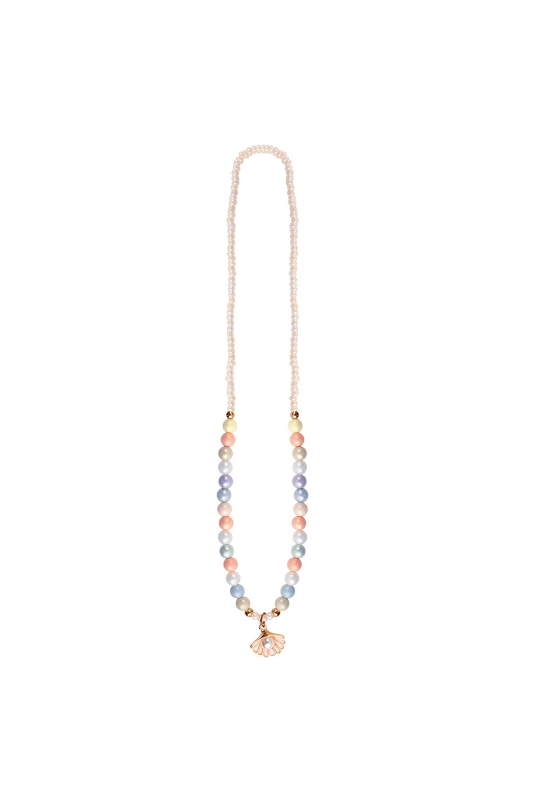 Great Pretenders  Boutique Pastel Shell Necklace - Main Image