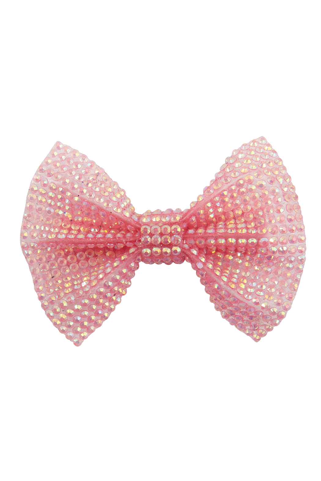 Great Pretenders  Boutique Pink Gem Bow Hair Clip - Main Image