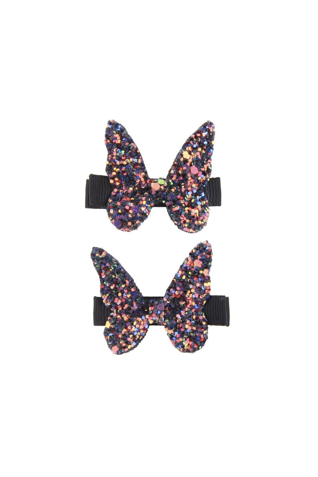 Great Pretenders  Boutique Rockstar Butterfly Hair Clip - Back Cropped Image