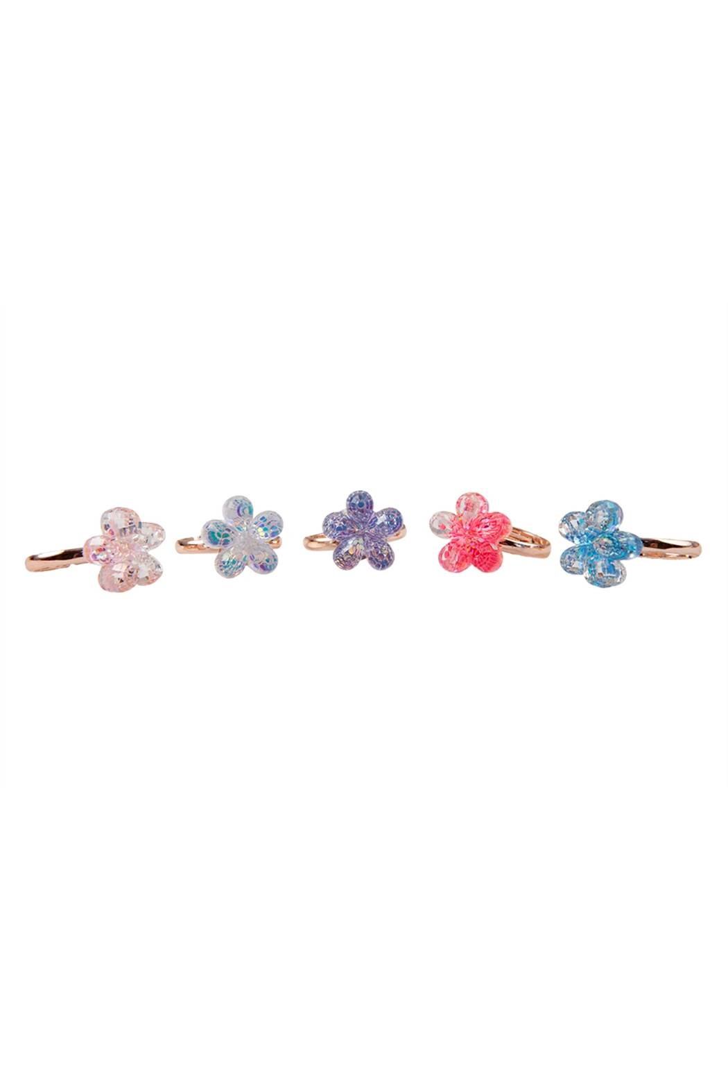 Great Pretenders  Boutique Shimmer Flower Ring - Main Image