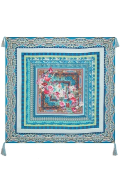 Johnny Was Collection Boutique Silk Scarf - Product List Image