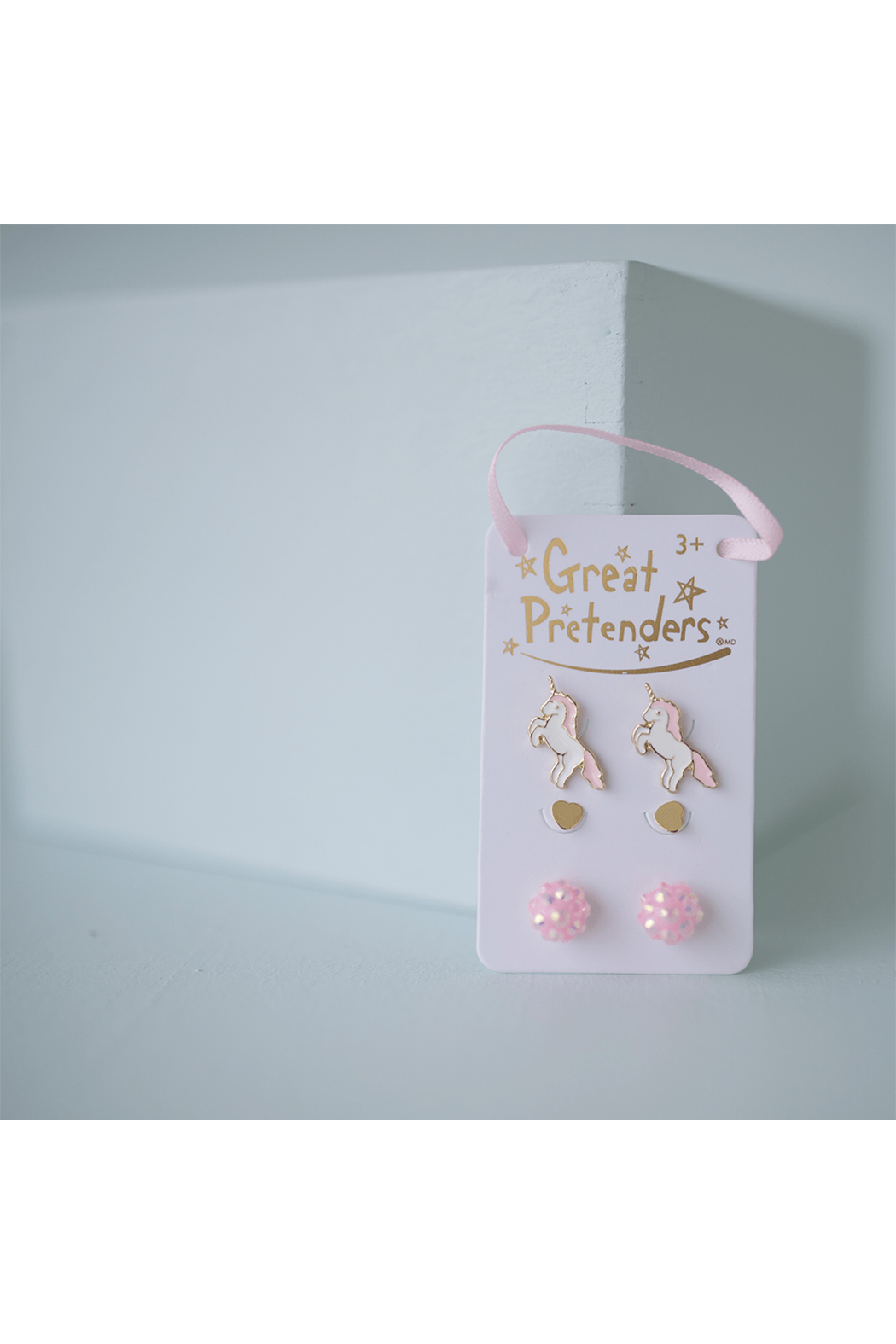 Great Pretenders  Boutique Unicorn Studded Earrings Set - Front Full Image