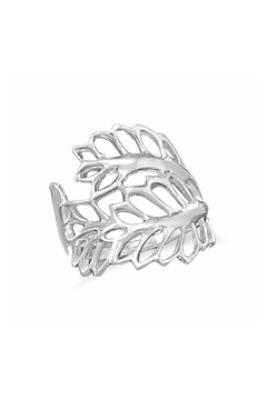 Shoptiques Product: Sterling-Silver Leaves Ring