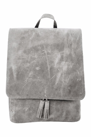Boutonne All Leather Rucksack - Product Mini Image