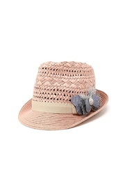 Nadya's Closet Bow Accent Fashion-Fedora - Product Mini Image