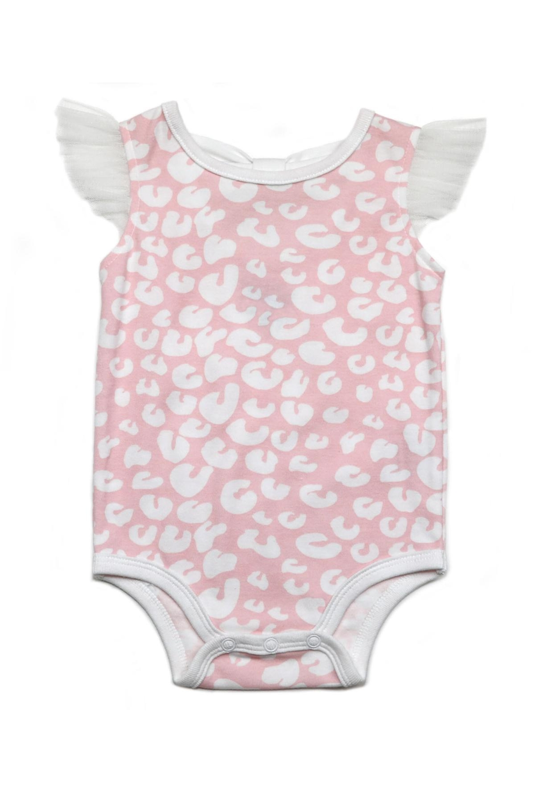 Kapital K Bow Back Onesie - Front Cropped Image