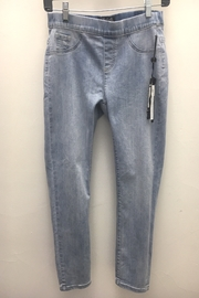 Charlie B. Bow Back Stretch Denim Jeans - Front full body