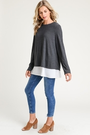 Elegance by Sarah Ruhs Bow Back Sweater - Product Mini Image