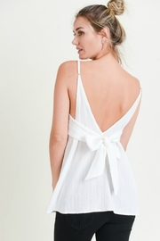 Doe & Rae BOW BACK TANK - Product Mini Image