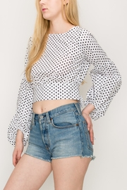 Favlux Bow Crop Top - Front full body