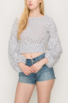 Favlux Bow Crop Top - Product List Image