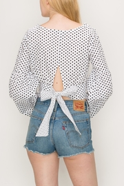 Favlux Bow Crop Top - Side cropped