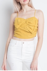Dreamers Bow Crop Top - Product Mini Image