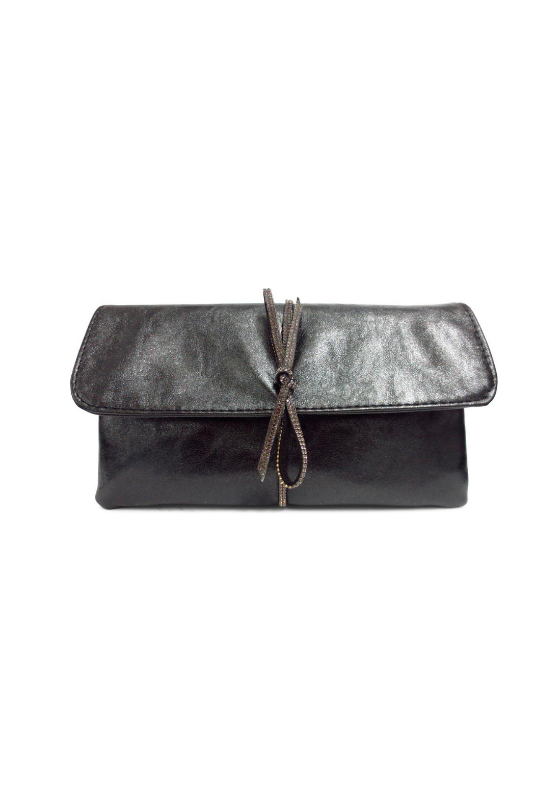 Sondra Roberts Bow Detail Clutch - Main Image