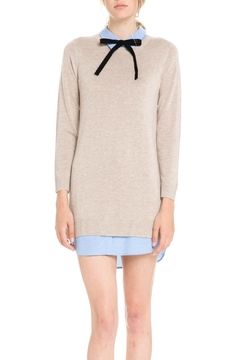 English Factory Bow Detail Sweater Dress - Product List Image