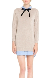 English Factory Bow Detail Sweater Dress - Product Mini Image