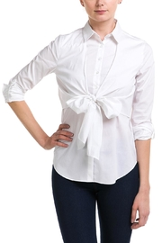 Lumiere Bow Front Blouse - Product Mini Image