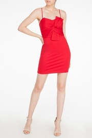 Mystic Bow Front Dress - Product Mini Image