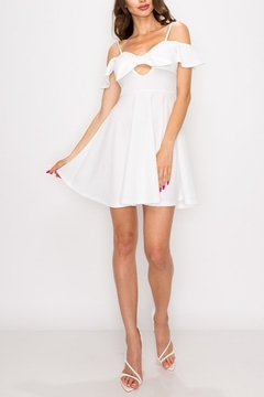 privy Bow Front Mini Dress - Product List Image