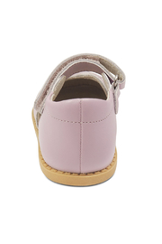 Livie & Luca Bow Lavender Mary Janes - Back cropped