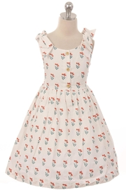 Kid's Dream Bow Shoulder Dress - Front cropped