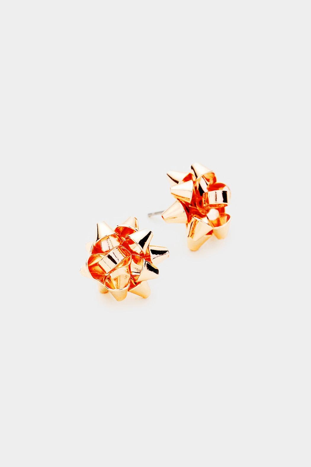 Wild Lilies Jewelry  Bow Stud Earrings - Main Image
