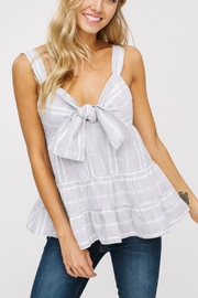 Listicle Bow Tank Top - Product Mini Image