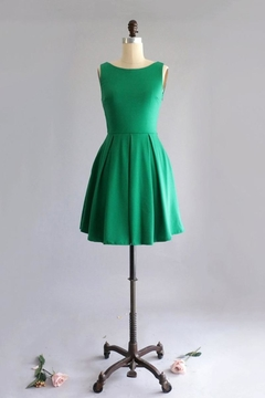 Shoptiques Product: Bow-Tique Dress Green