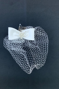 Lucky Collections Bow w/Netting Headpiece - Alternate List Image