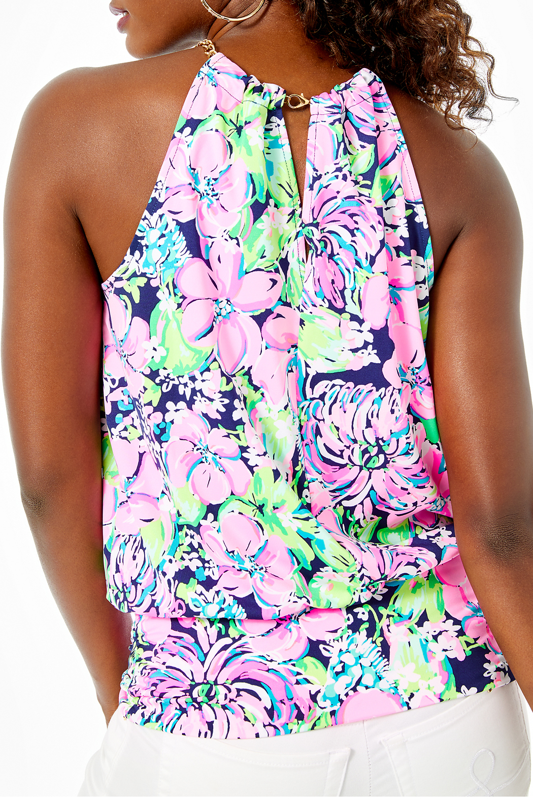 Lilly Pulitzer  Bowen Top - Front Full Image