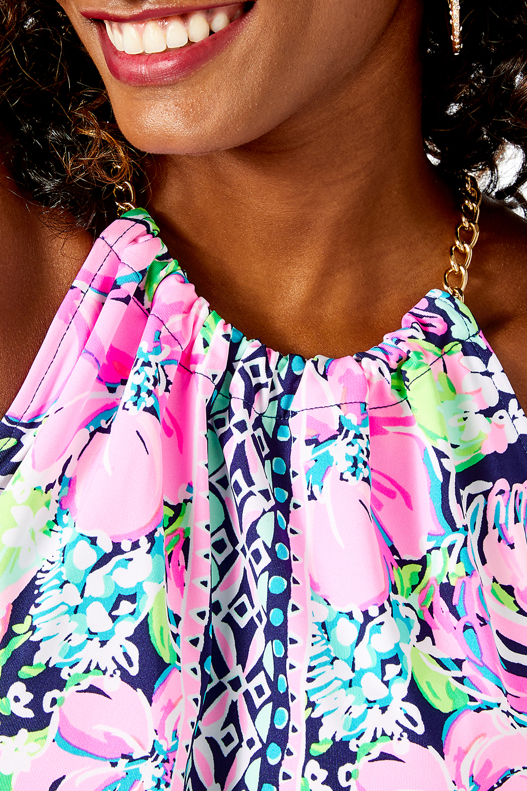 Lilly Pulitzer  Bowen Top - Side Cropped Image