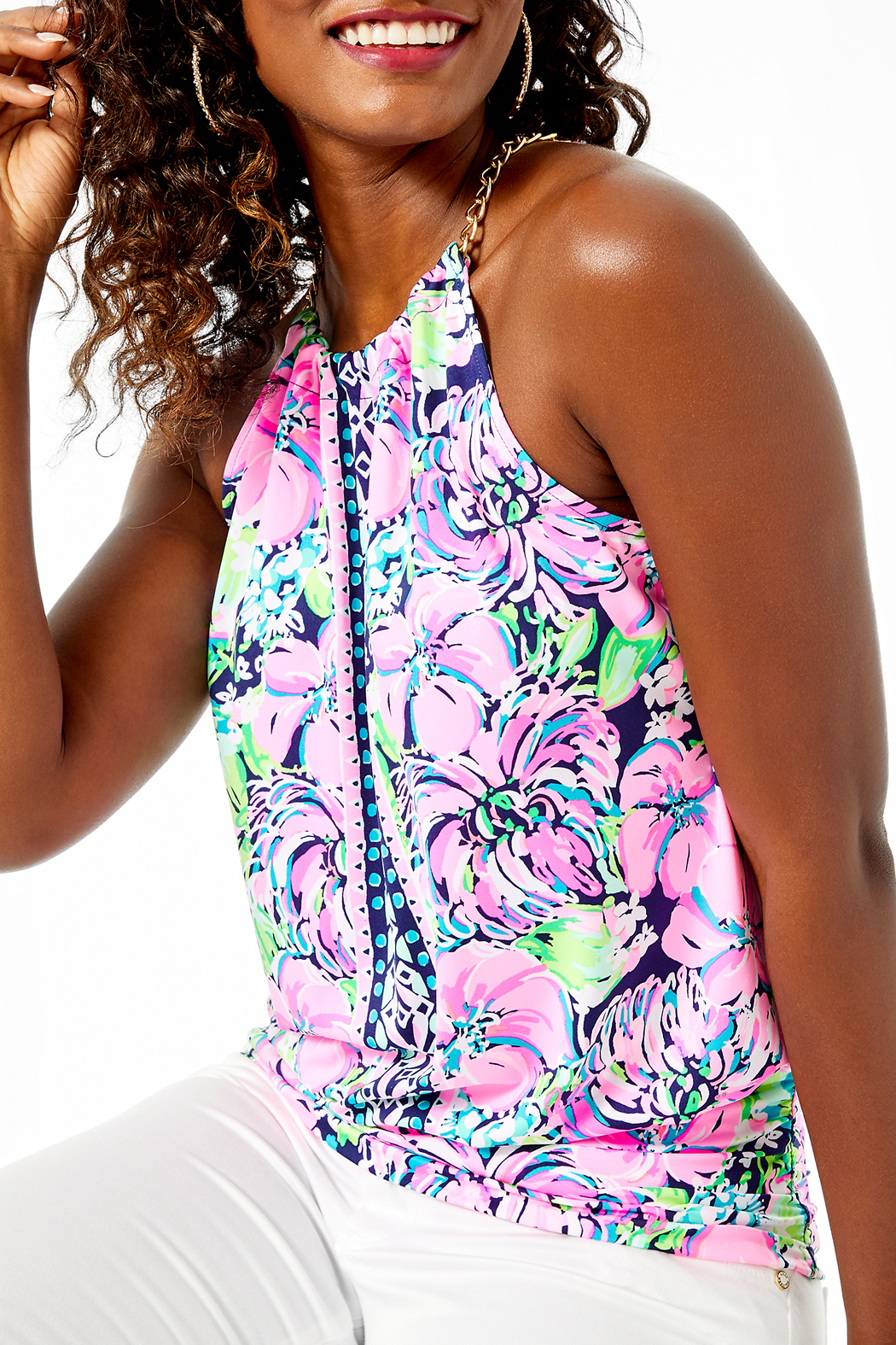 Lilly Pulitzer  Bowen Top - Main Image