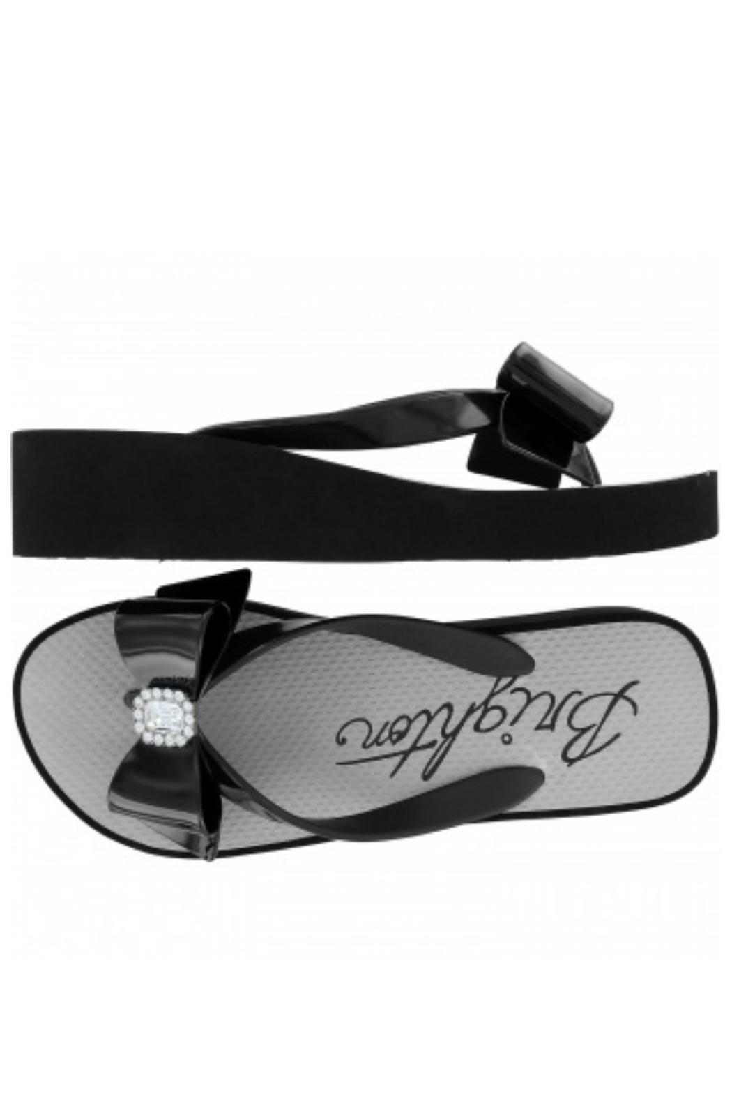 Brighton Bowie Flip Flops - Front Full Image