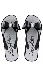 Brighton Bowie Flip Flops - Front cropped