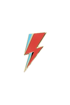The Found Bowie Lightning Pin - Alternate List Image