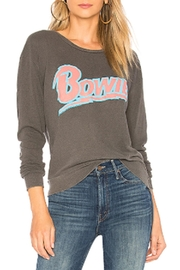 Junk Food Clothing Bowie Logo Sweatshirt - Front cropped