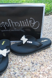 Glitterflops Bowtie Crystals Flipflops - Product Mini Image
