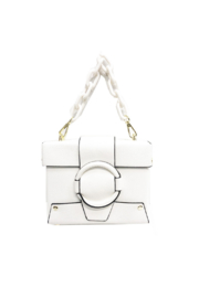 INZI Box Bag Crossbody - Front cropped