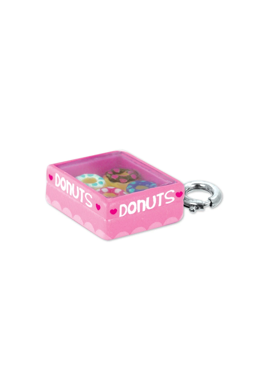 Charm It Box Of Donuts Charm - Front Full Image