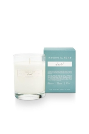 Magnolia Home Boxed Glass Candle - Front cropped